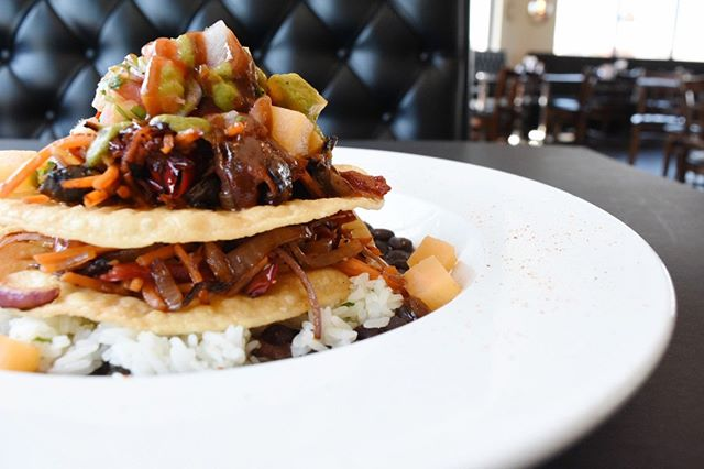 Our Vegan stack isn't on the menu but it is loaded with goodness 😍 If you're vegetarian or vegan, make sure to ask your server about this delicious dish! #ElToroChino