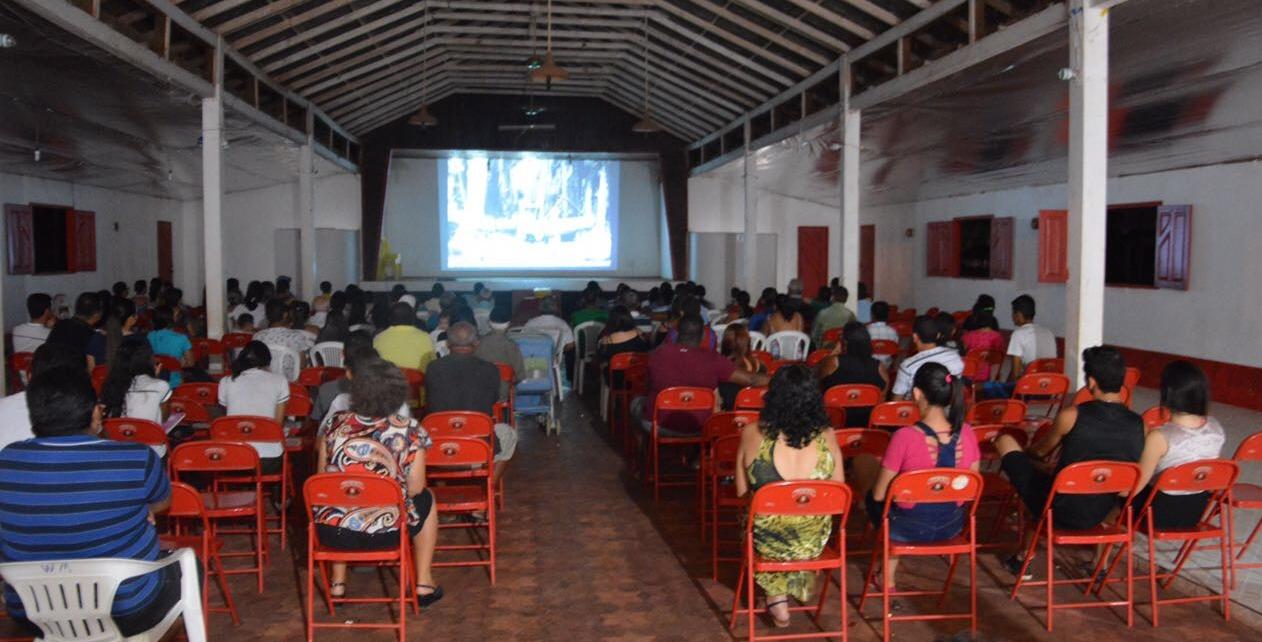 Film presentation at Belterra