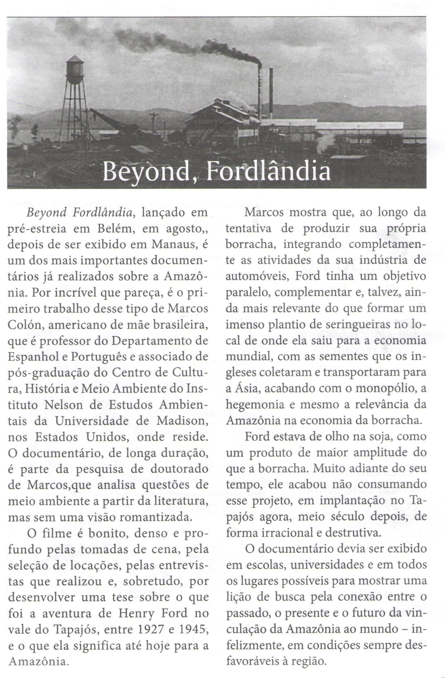 Jornal Pessoal review