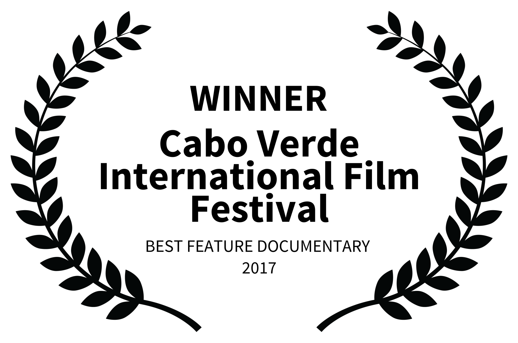 WINNER - Cabo Verde International Film Festival - BEST FEATURE DOCUMENTARY  2017.png