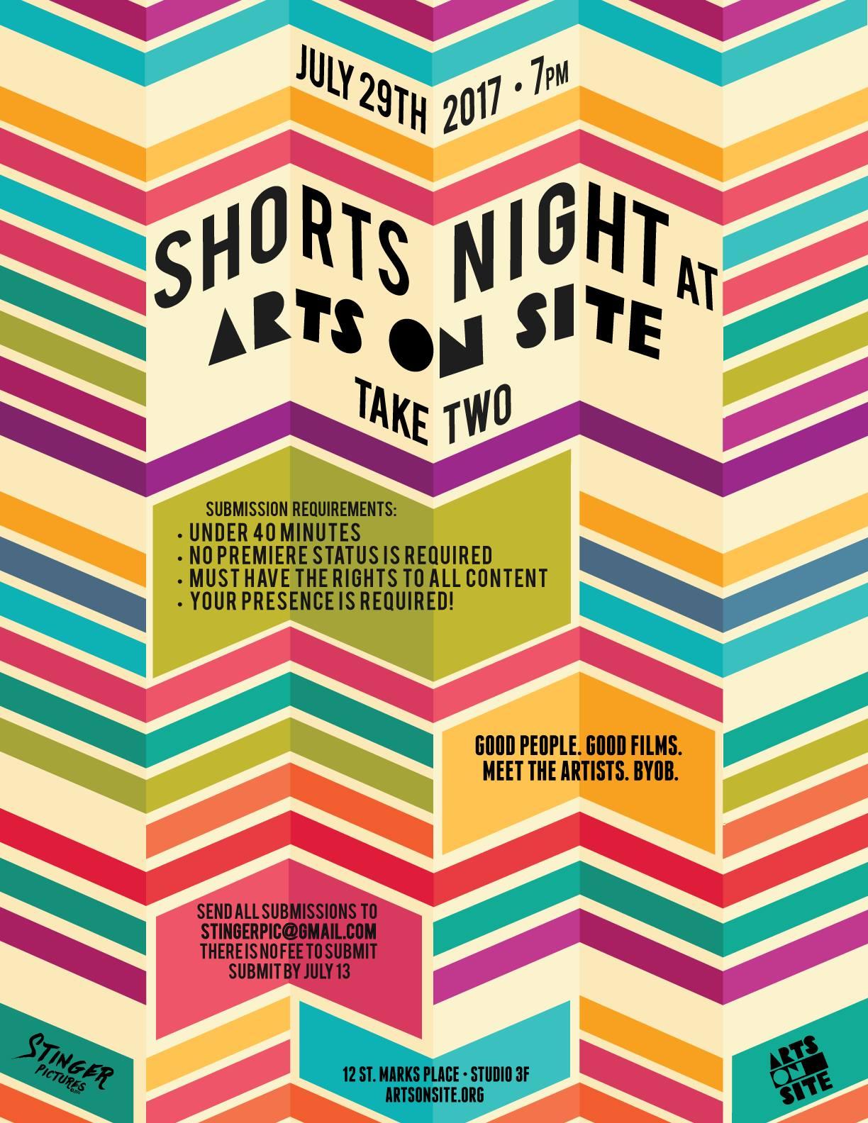 shorts night take 2