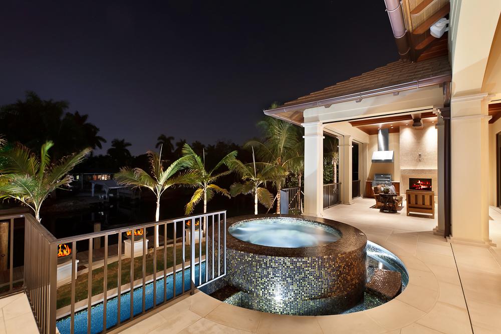 12 - Naples Boater's Dream - Pool Deck with 360 degree Japanese Tile Hot Tub.jpg