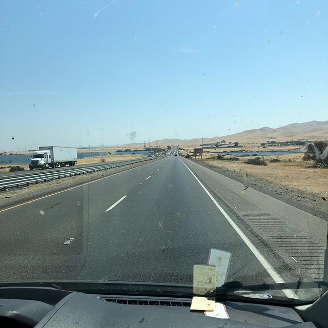 Rolling through the emptiness of I5 on our way to LA! Catch us tonight at @theredwoodbar in downtown with @psykward.official @corruptvisionoc @fun_abuse . . . . . . #losangeles #show #band #livemusic #wickedshallows #ontheroad #crackrocksteady #punk