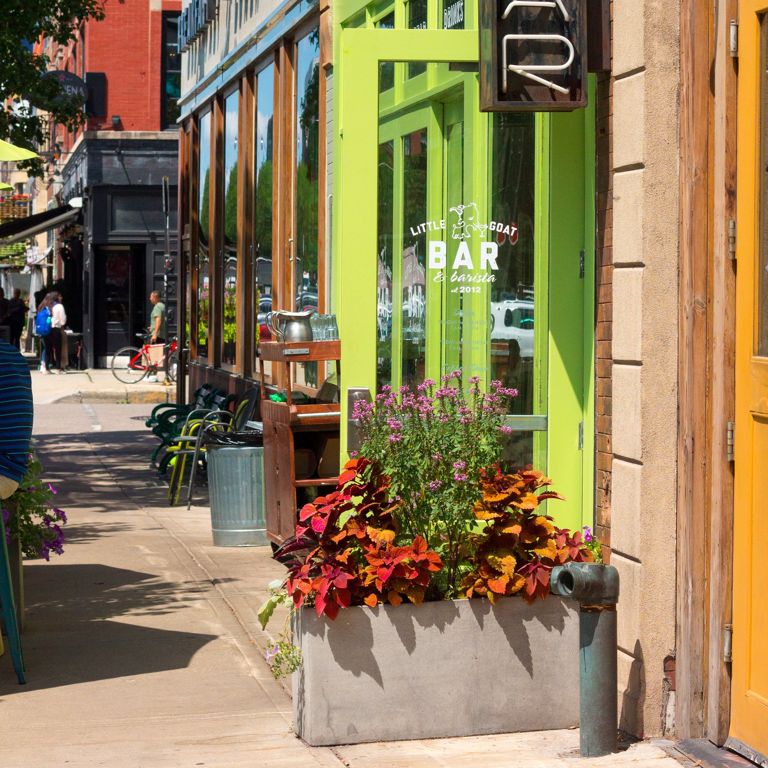 Design by CWL for Little Goat Diner: 820 W. Randolph St.
