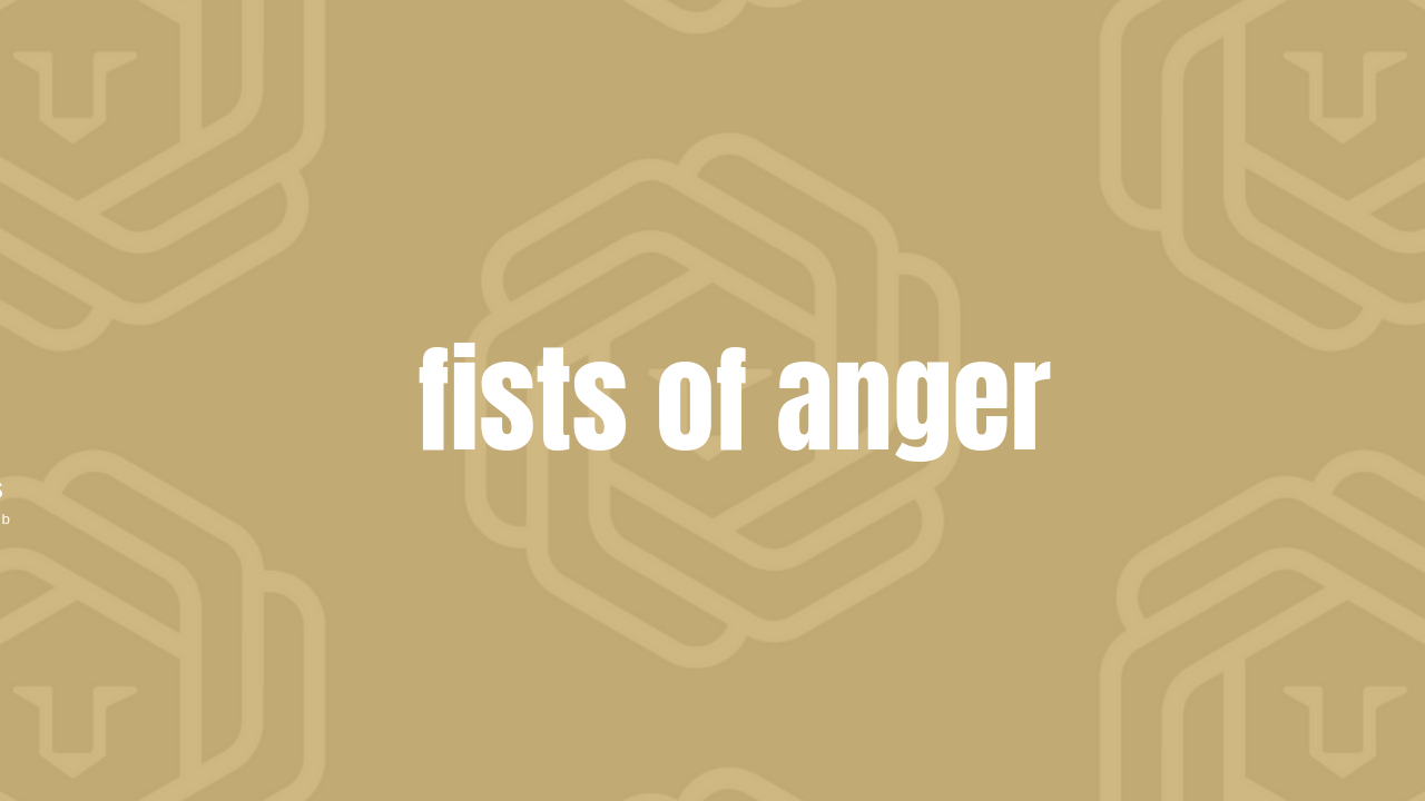FISTS OF ANGER  Meditation to release anger and negativity. Practice this meditation 3 minutes a day to remove the anger, negativity and commotion from your being. Have something that is really irritating you? This is a great meditation to practice to remove the garbage from your field