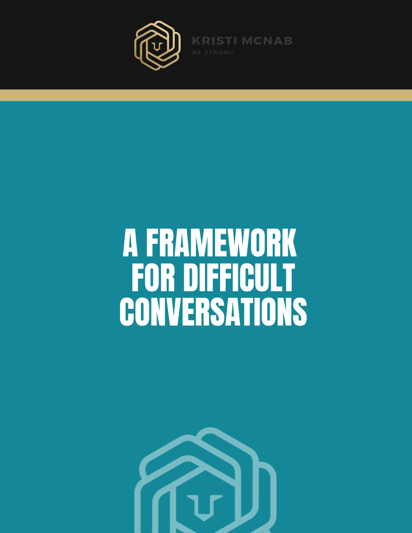 HOW TO HAVE DIFFICULT CONVERSATIONS - A 4-STEP GUIDE TO ELEVATED CONVERSATIONS