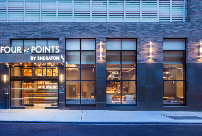 Four Points by Sheraton Manhattan Midtown West  446 10th Avenue  website