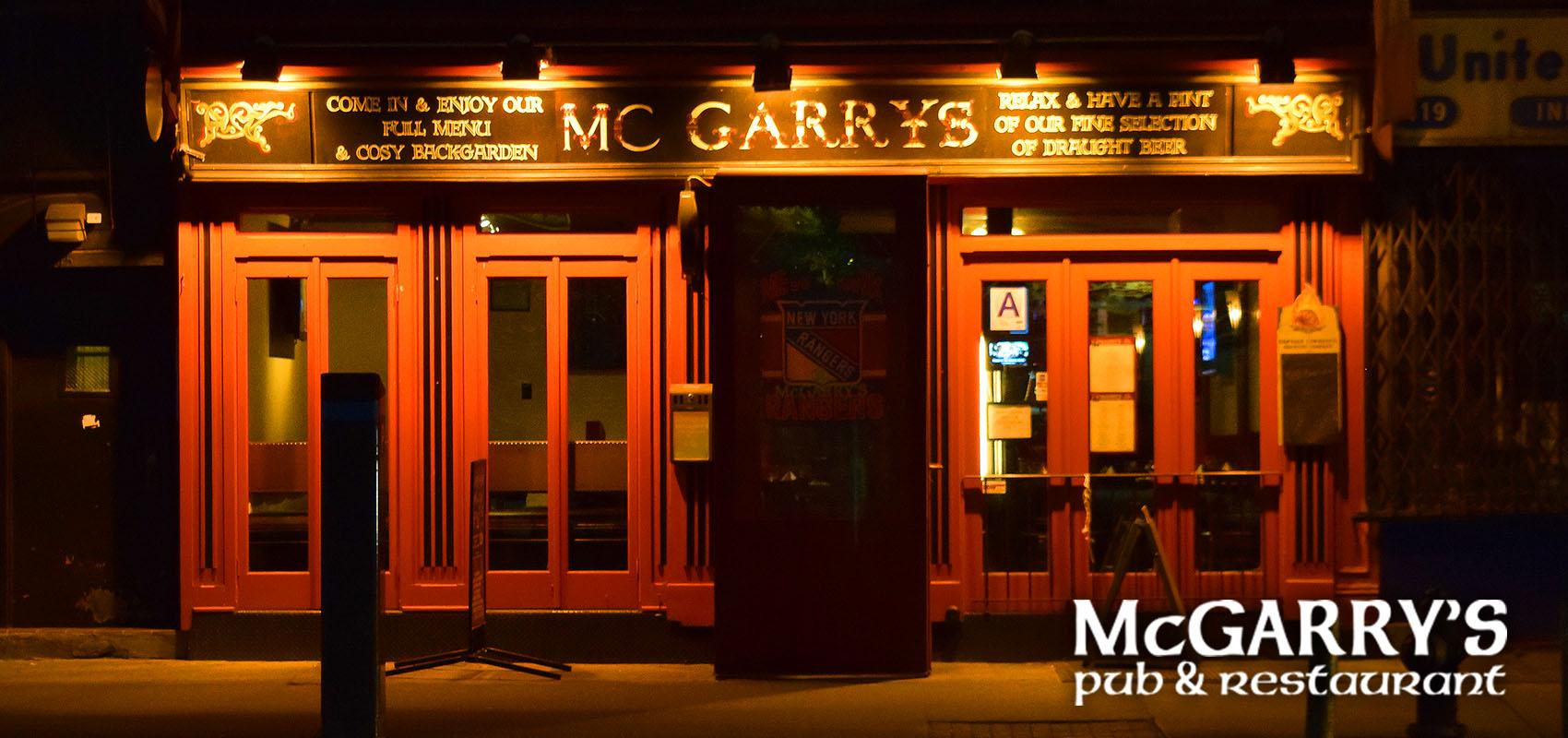 McGarry's Bar & Restaurant  417 9th Avenue website