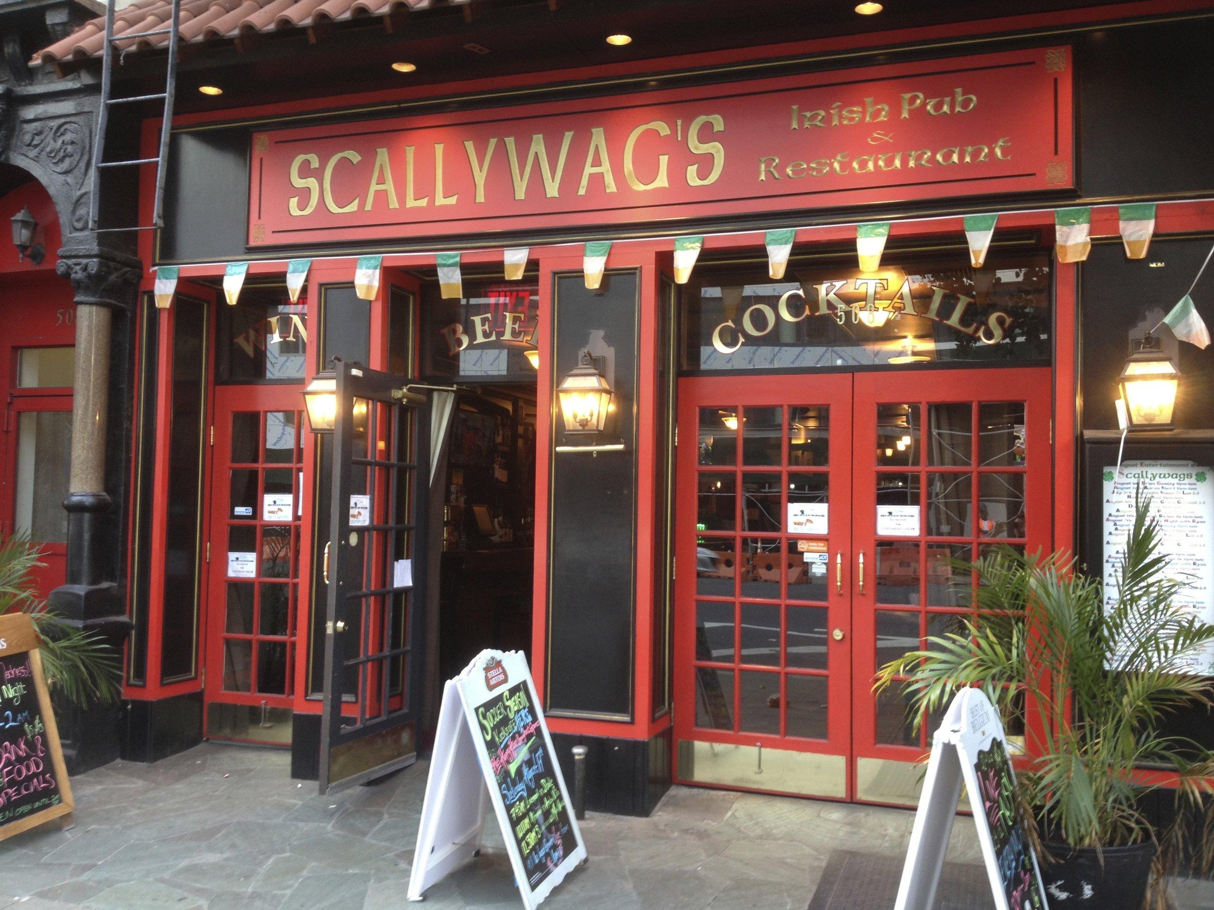 Scallywag's Irish Pub  508 9th Avenue  website