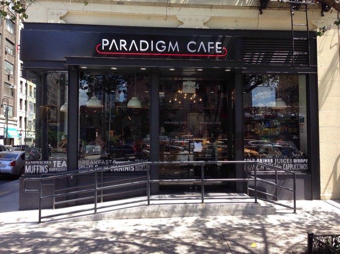 Paradigm Cafe  465 9th Avenue  website