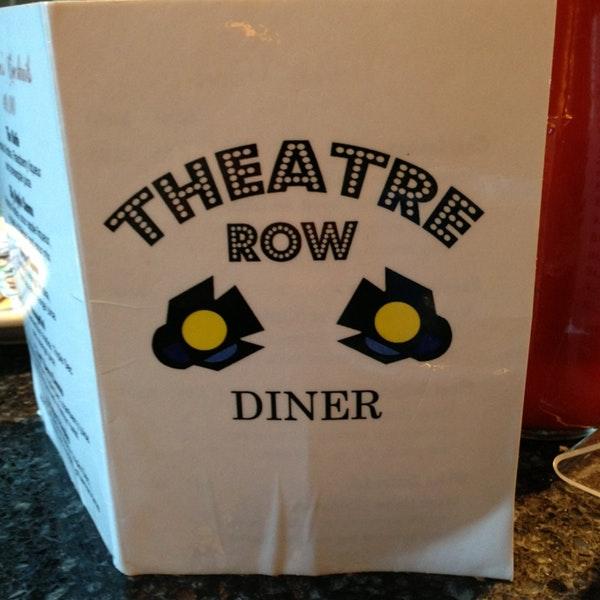 Theatre Row Diner  424 W 42nd Street  website