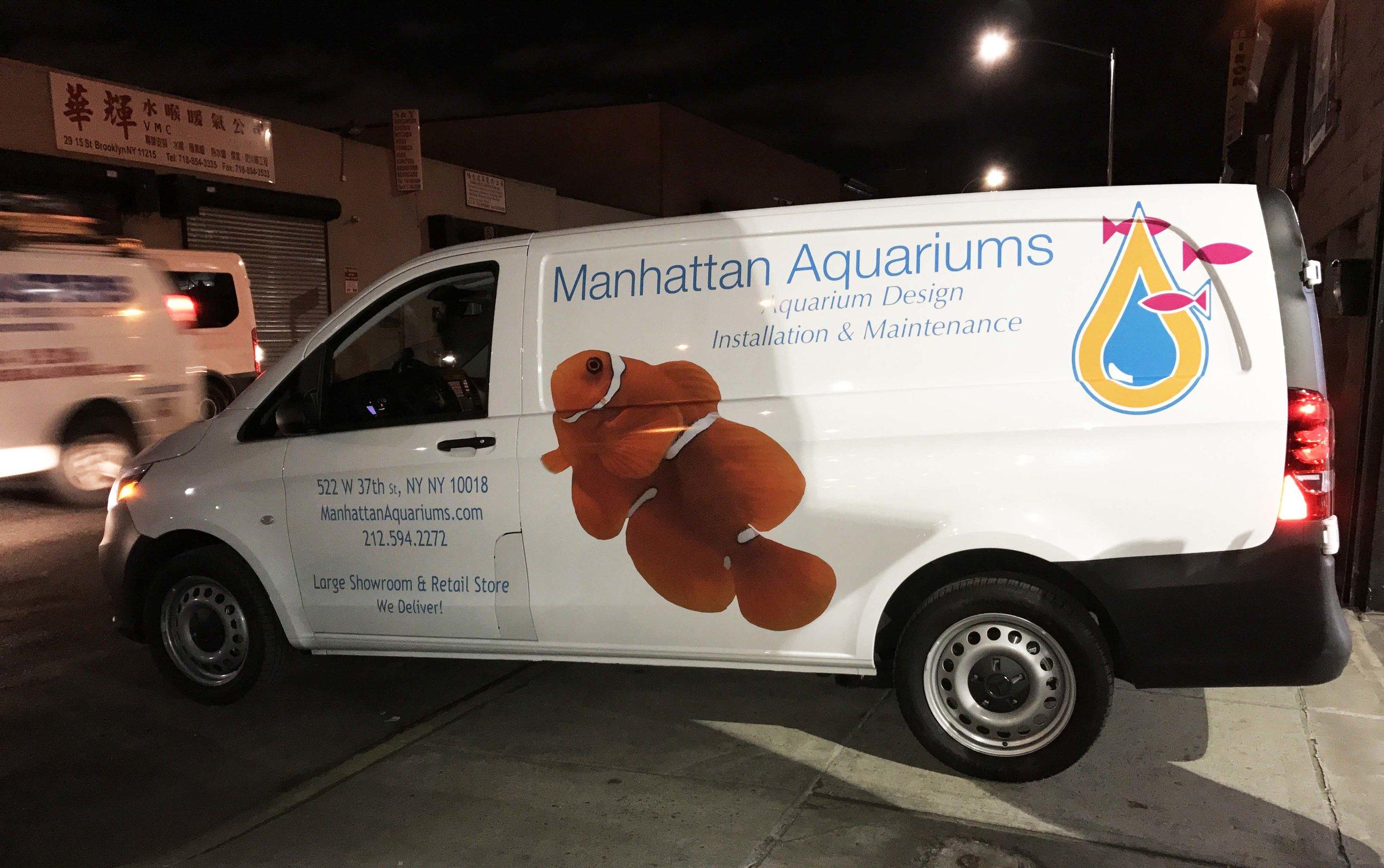 Manhattan Aquariums  522 W 37th Street  website