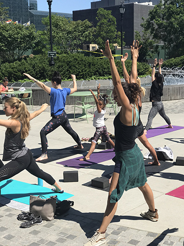 Yoga Flow with Malorie  Saturdays at 10AM [Begins May 18th]  Sign up  HERE