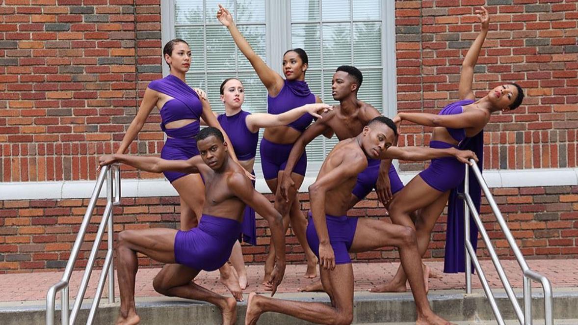 DALLAS BLACK DANCE THEATRE   (photo courtesy of @DallasBlackDance)