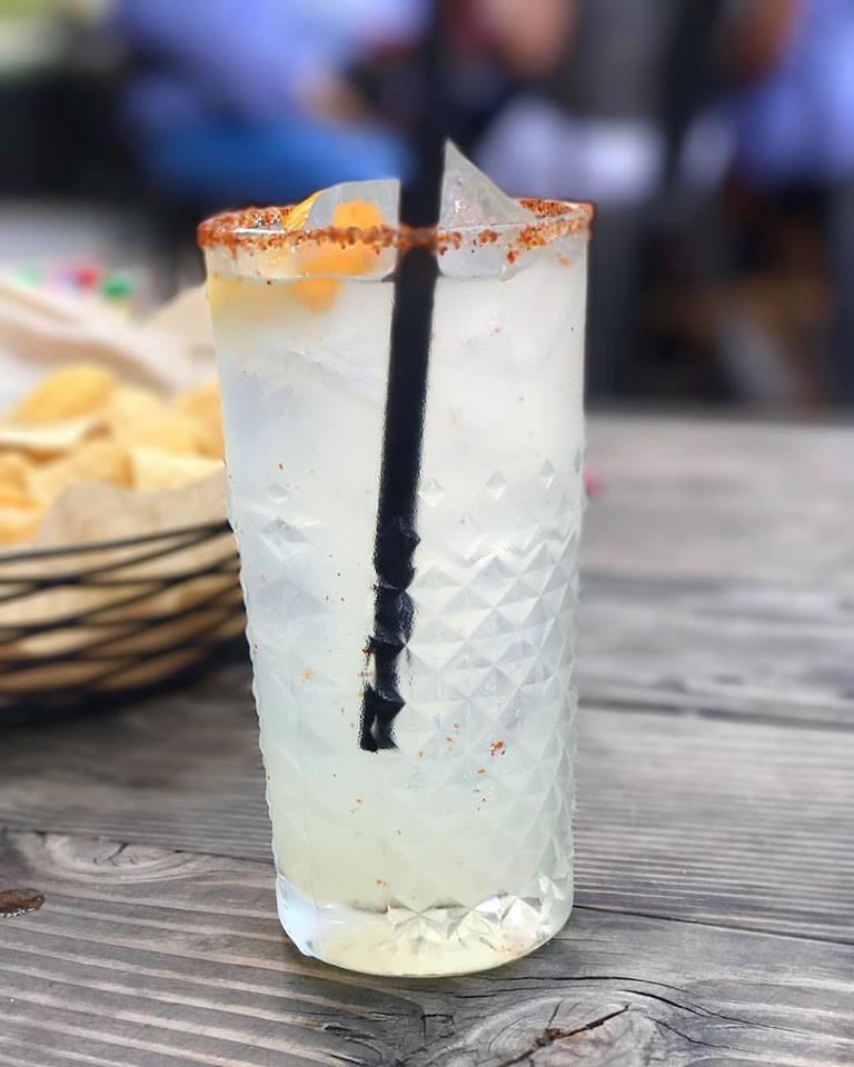 Tortaco's Happy Hour Mezcal Margarita courtesy of @tortacodfw
