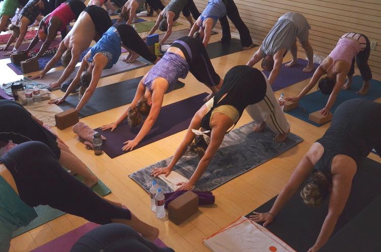 Photo courtesy of Yoga Project Studios