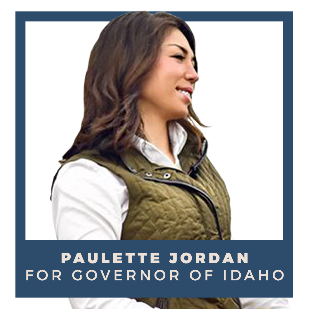 Indivisible endorses Paulette Jordan for Governor of Idaho