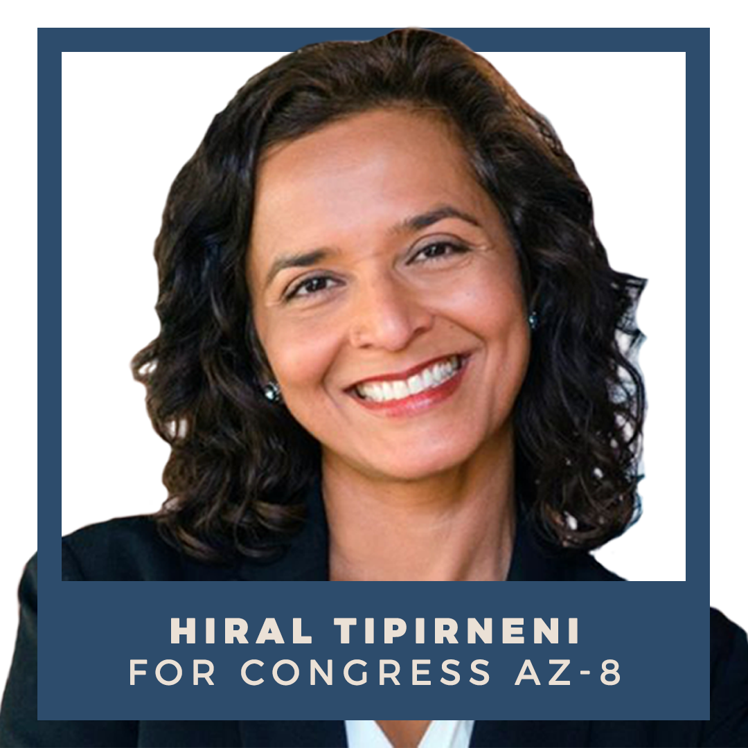 Indivisible endorses Hiral Tipirneni for Congress (AZ-8)