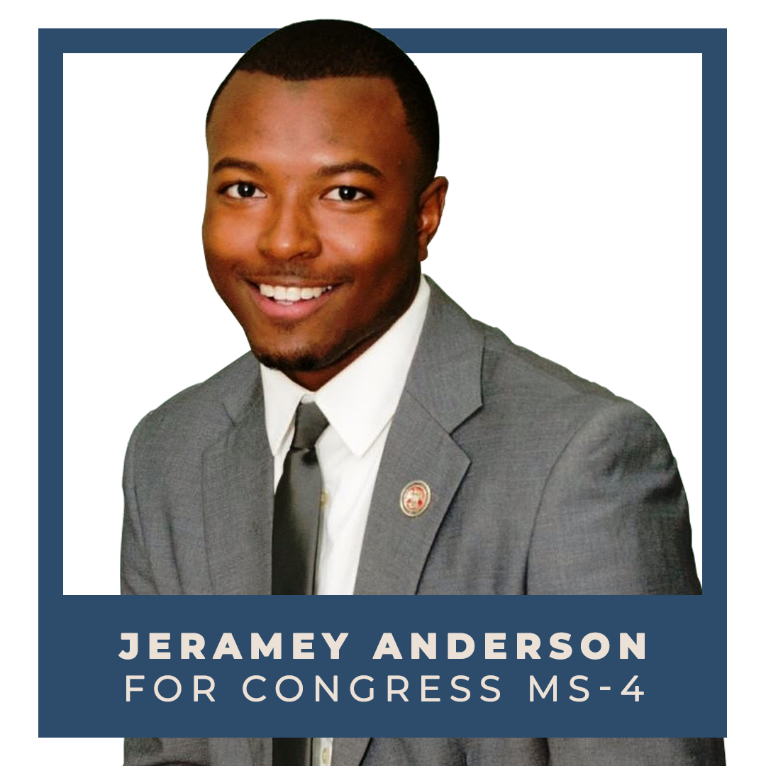 Indivisible endorses Jeramey Andersonfor Congress (MS-4)