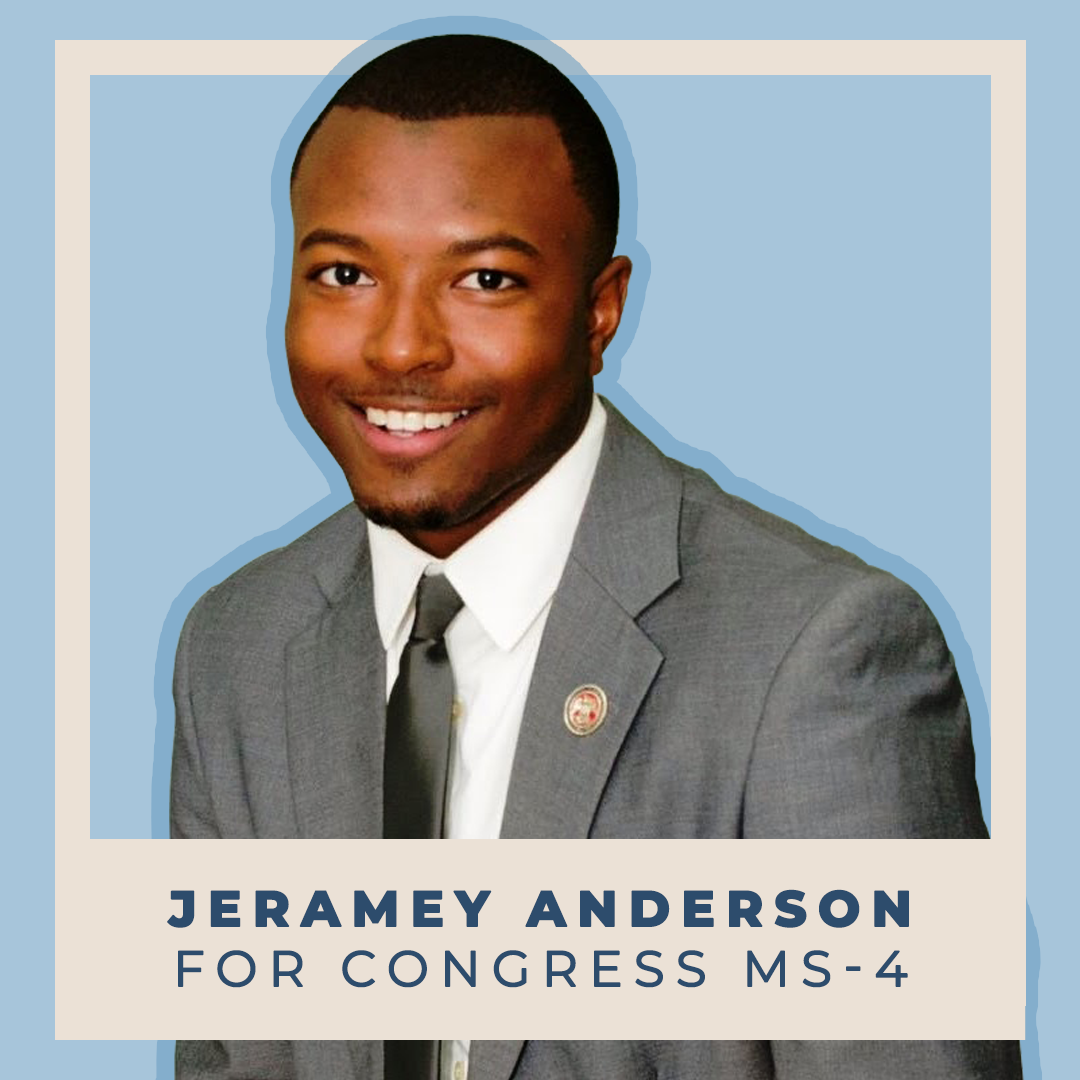 Indivisible endorses Jeramey Anderson for Congress (MS-4)