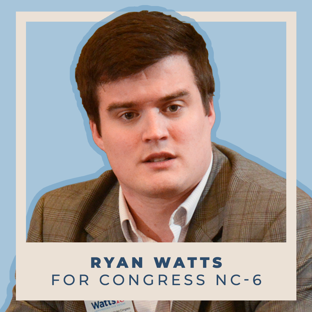 Indivisible Endorses Ryan Watts for Congress (NC-6)