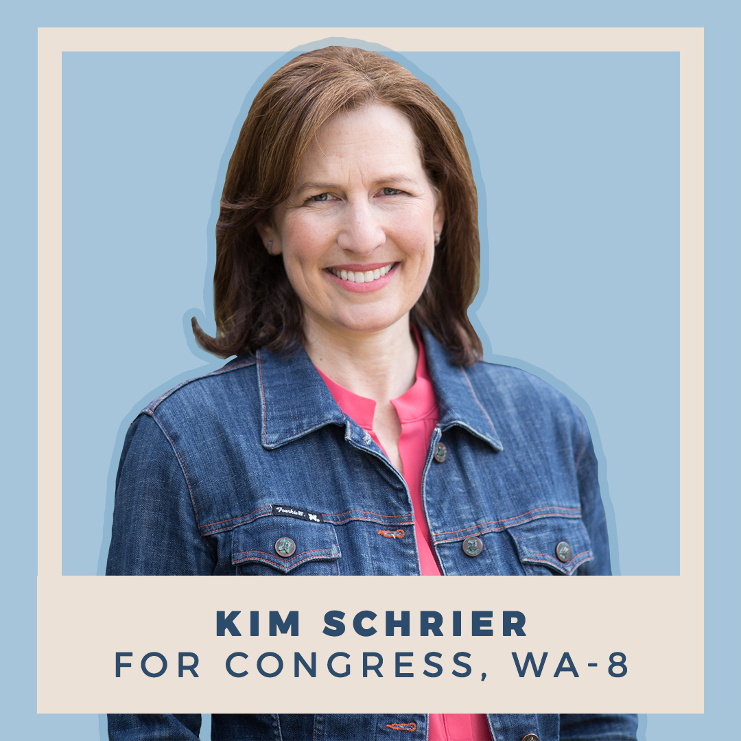 Kim Schrier for Congress, WA-08