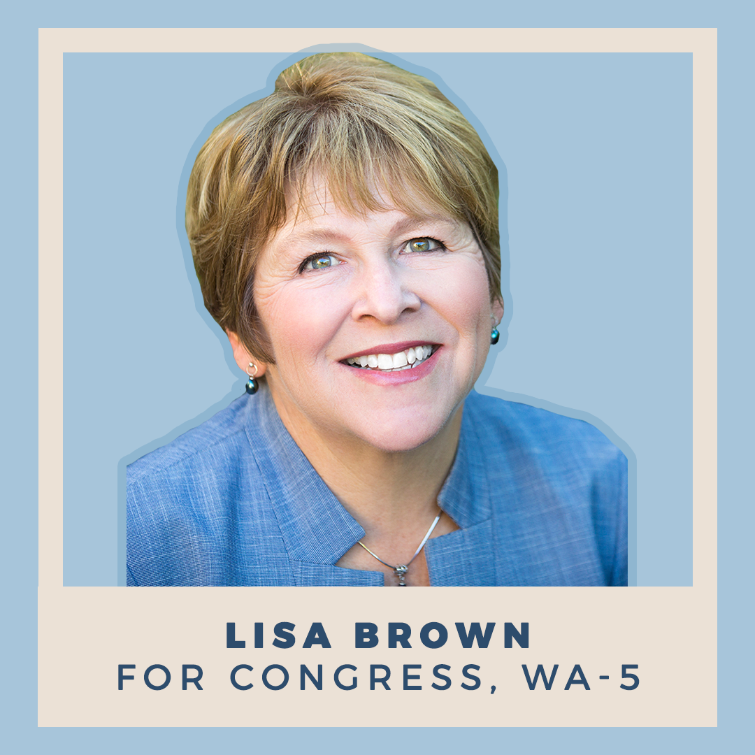 Lisa Brown for Congress, WA-05