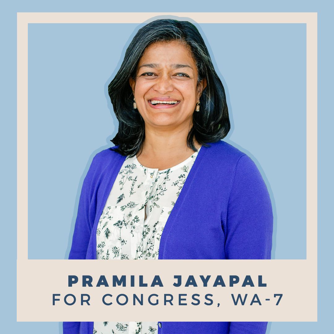 Pramila Jayapal for Congress, WA-07