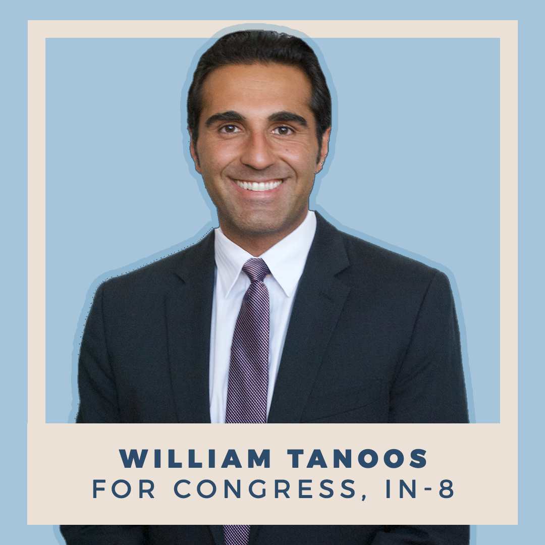 William Tanoos for Congress, IN-08