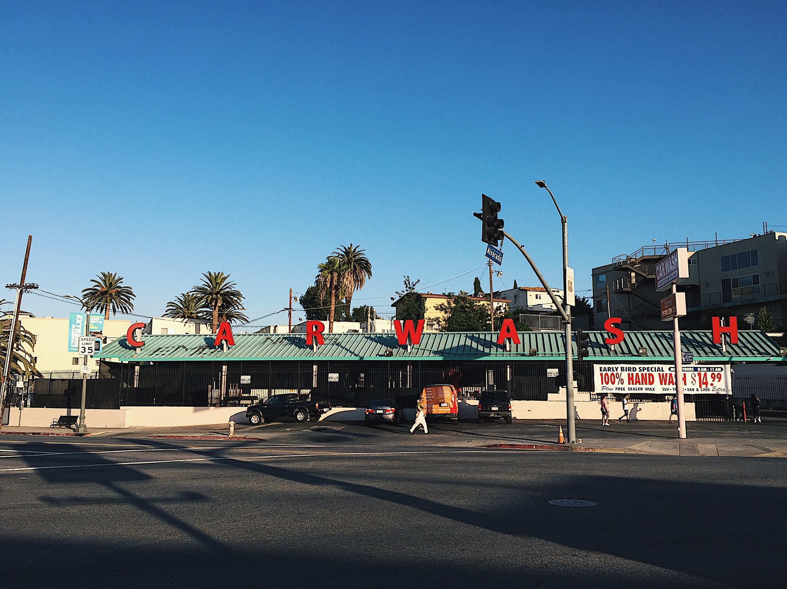 Echo Park Car Wash