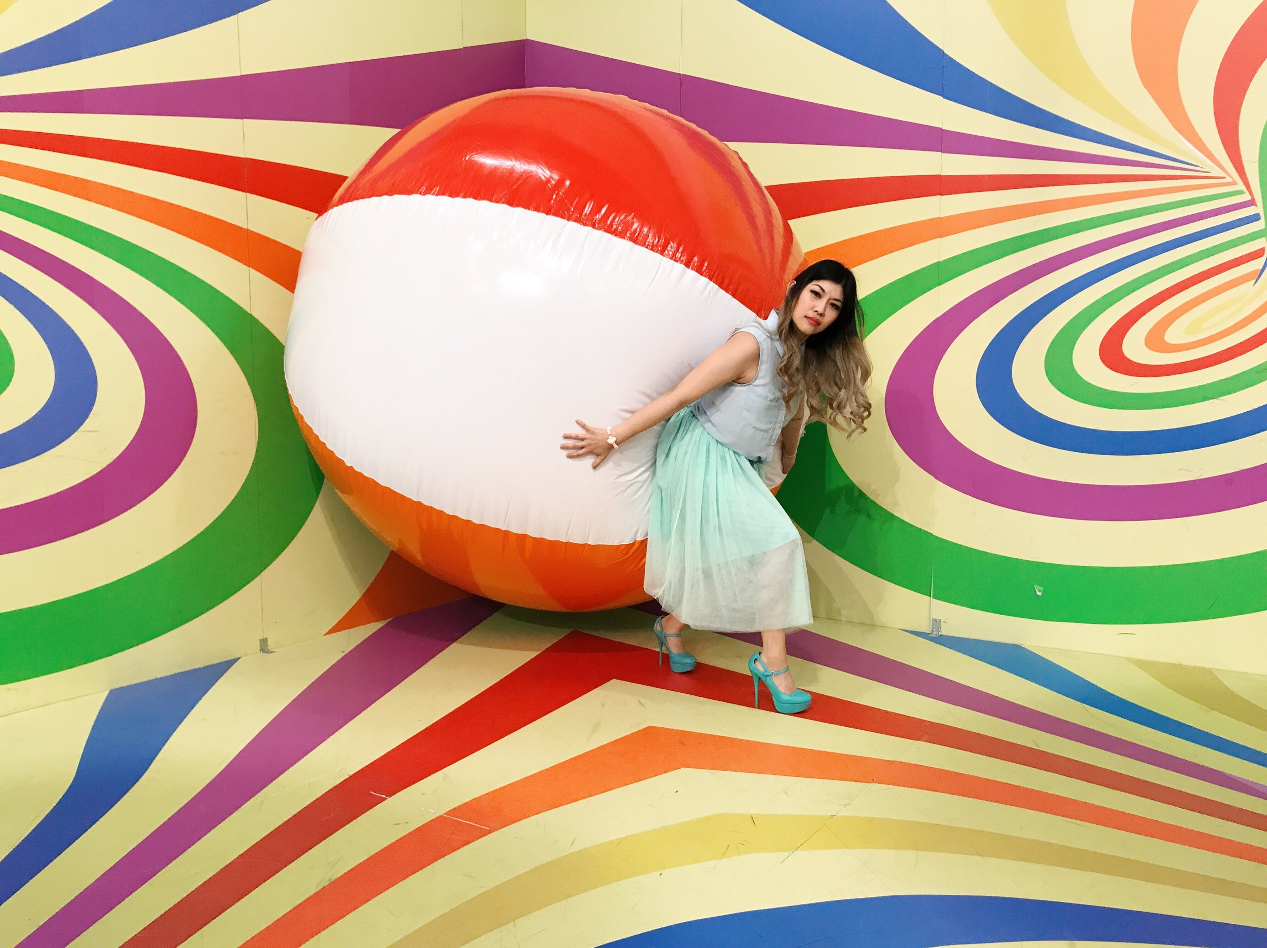 Giant Beach Ball Candytopia