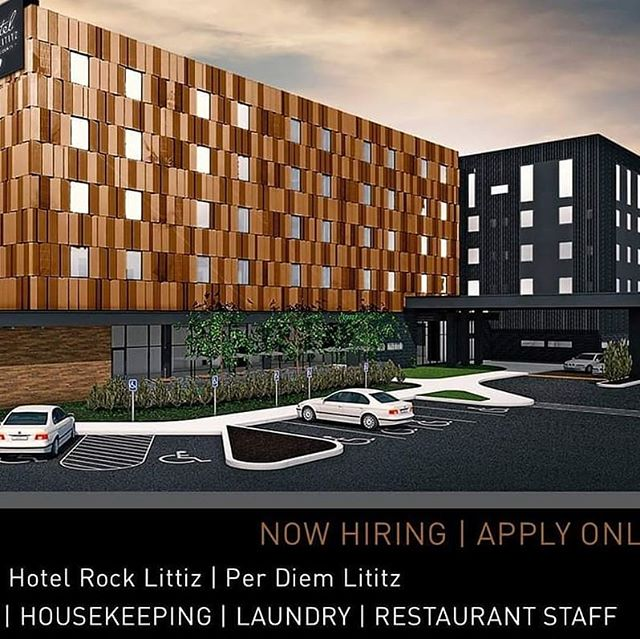 Word on the street is that there are some pretty awesome job opportunities available at Hotel Rock Lititz & Per Diem...