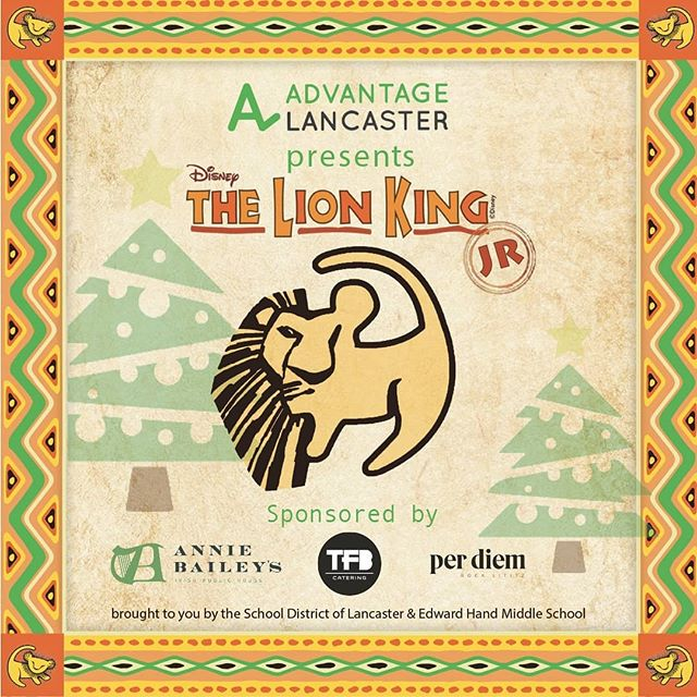 We are excited to collaborate with @advantagelancaster and bring The Lion King Jr production to fruition.  Please consider supporting their Lion King Themed Christmas tree at @gobarnstormers  #community #Art #Amplify #uplift #collaborate #strongertogether #lancaster #lancasterpa #advantagelancaster #mirrorimage