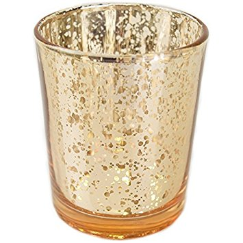 NEW! Gold Mercury Votives