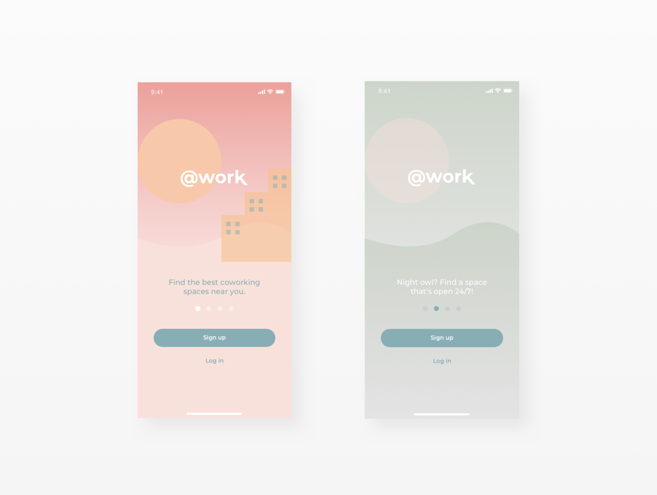 Student Project: @work Mobile App (iOS // Android)