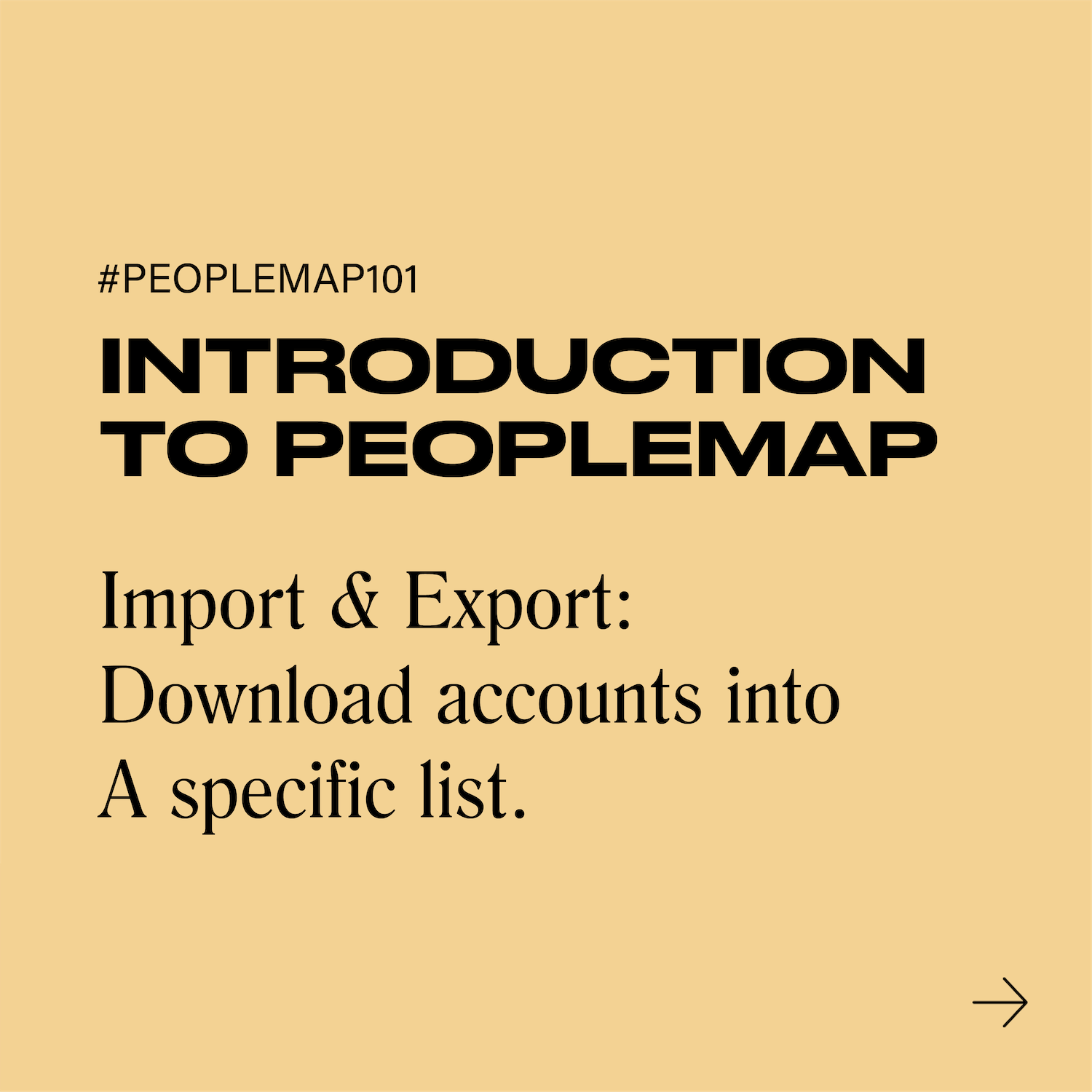#PeopleMap101 Promotional Videos