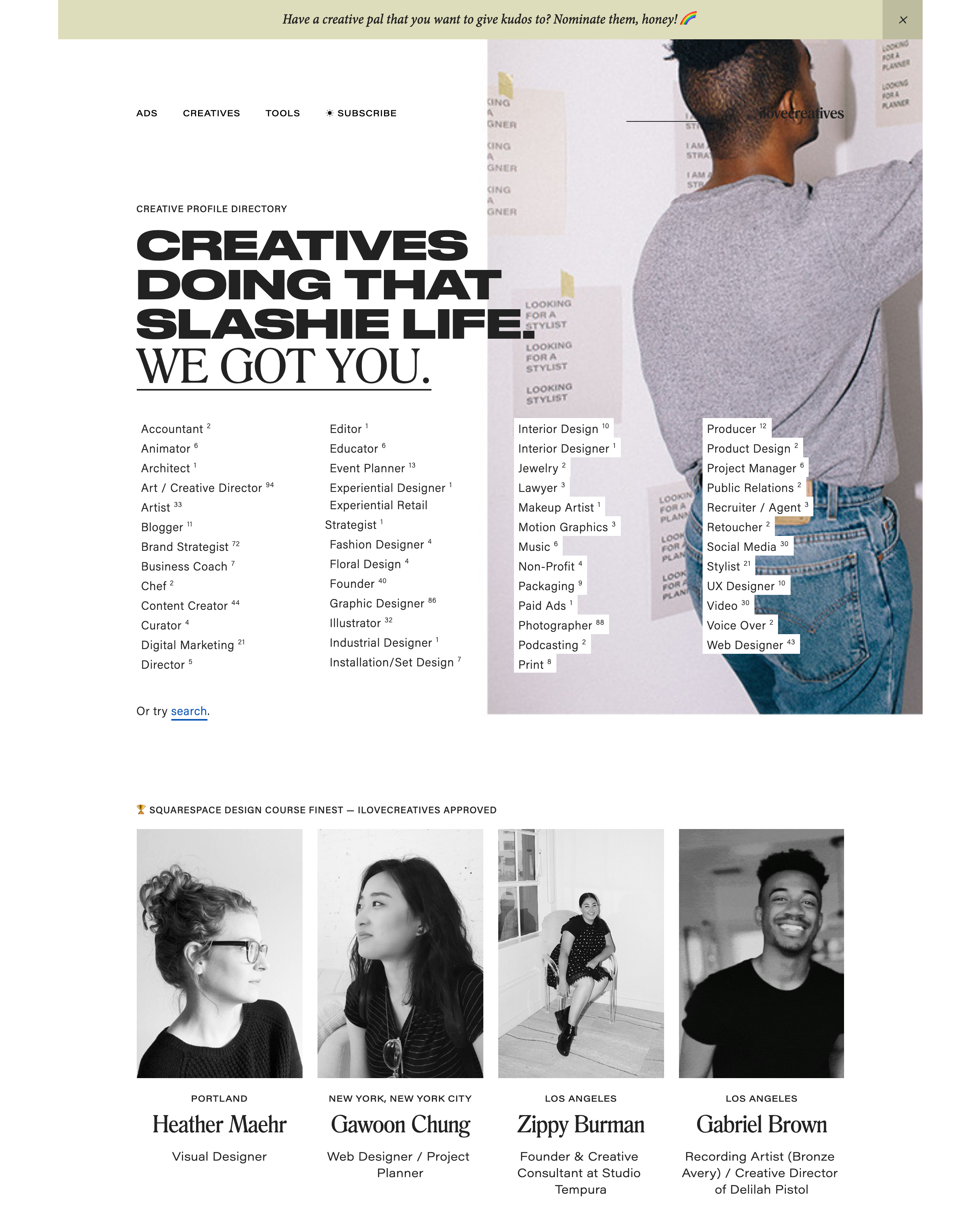 """Squarespace Design Course Finest"" - ilovecreatives Approved"