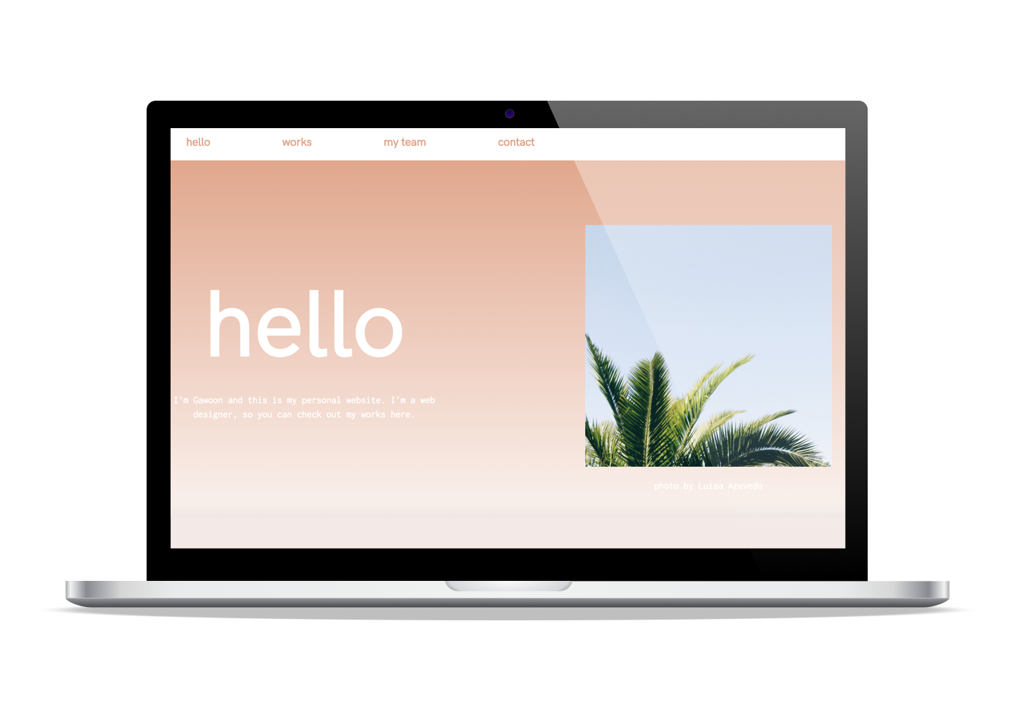 Student Project (HTML/CSS)