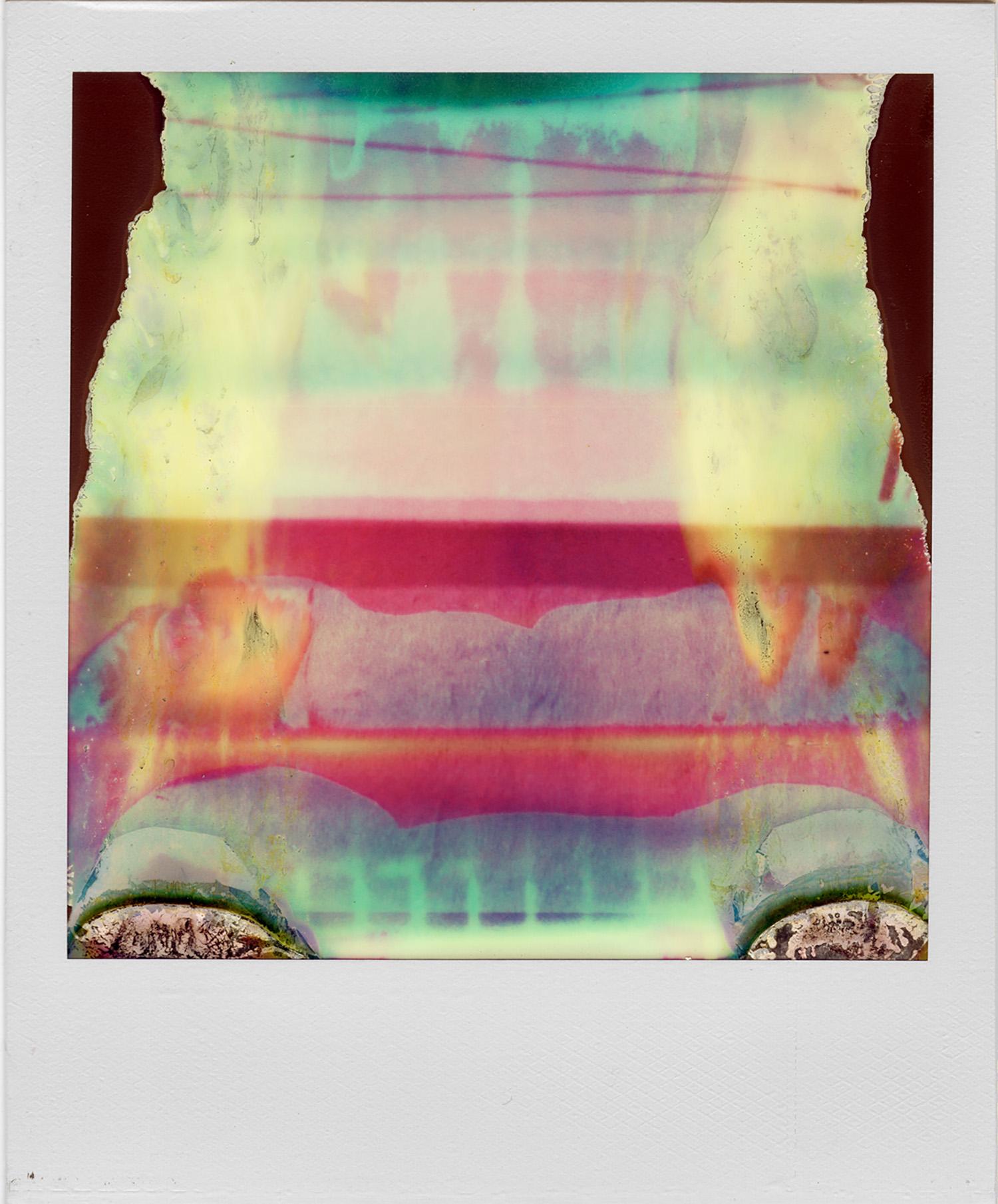 Ruined Polaroid #21, 2011