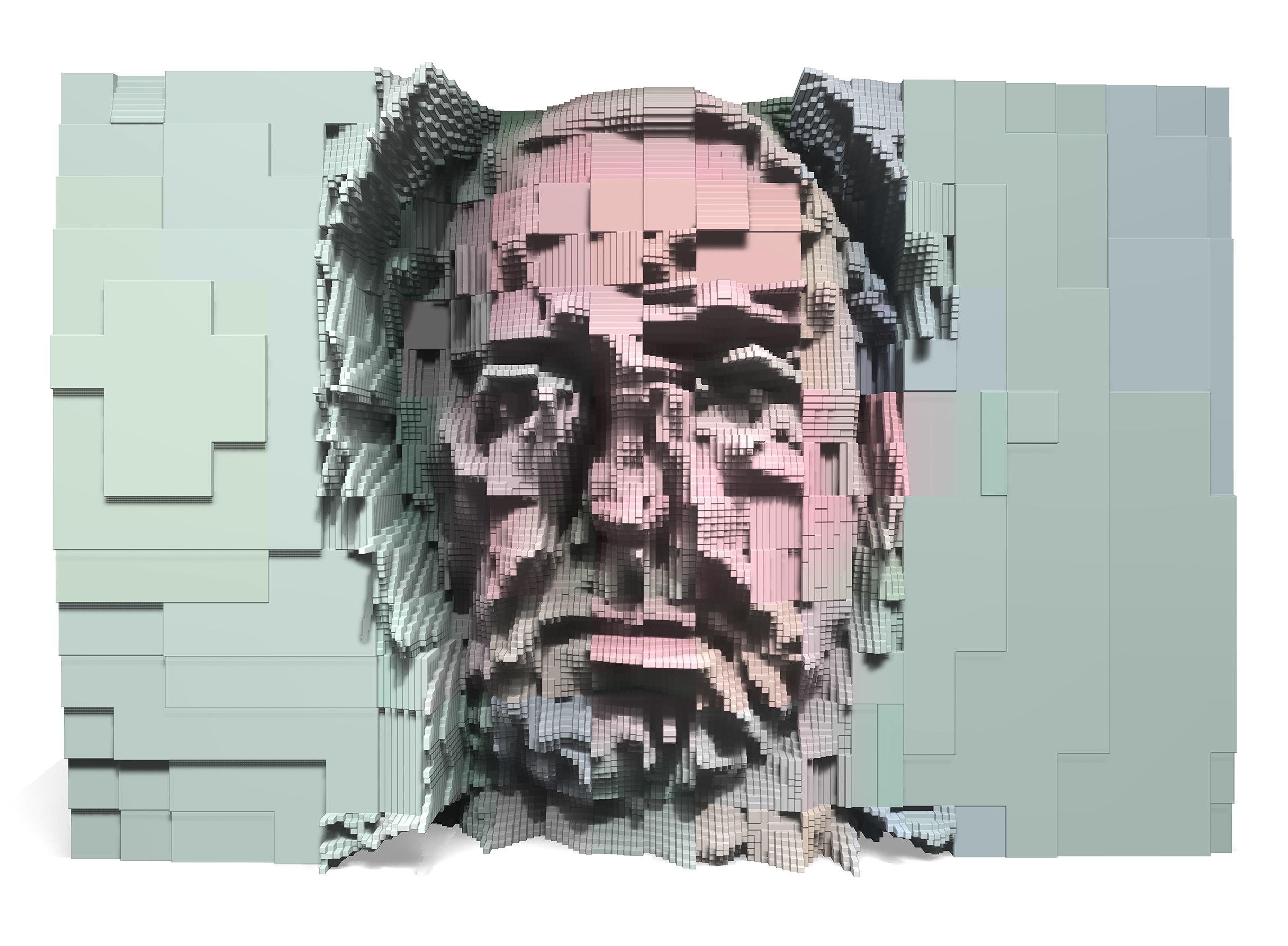 JPG Portrait, 2017, pigment print