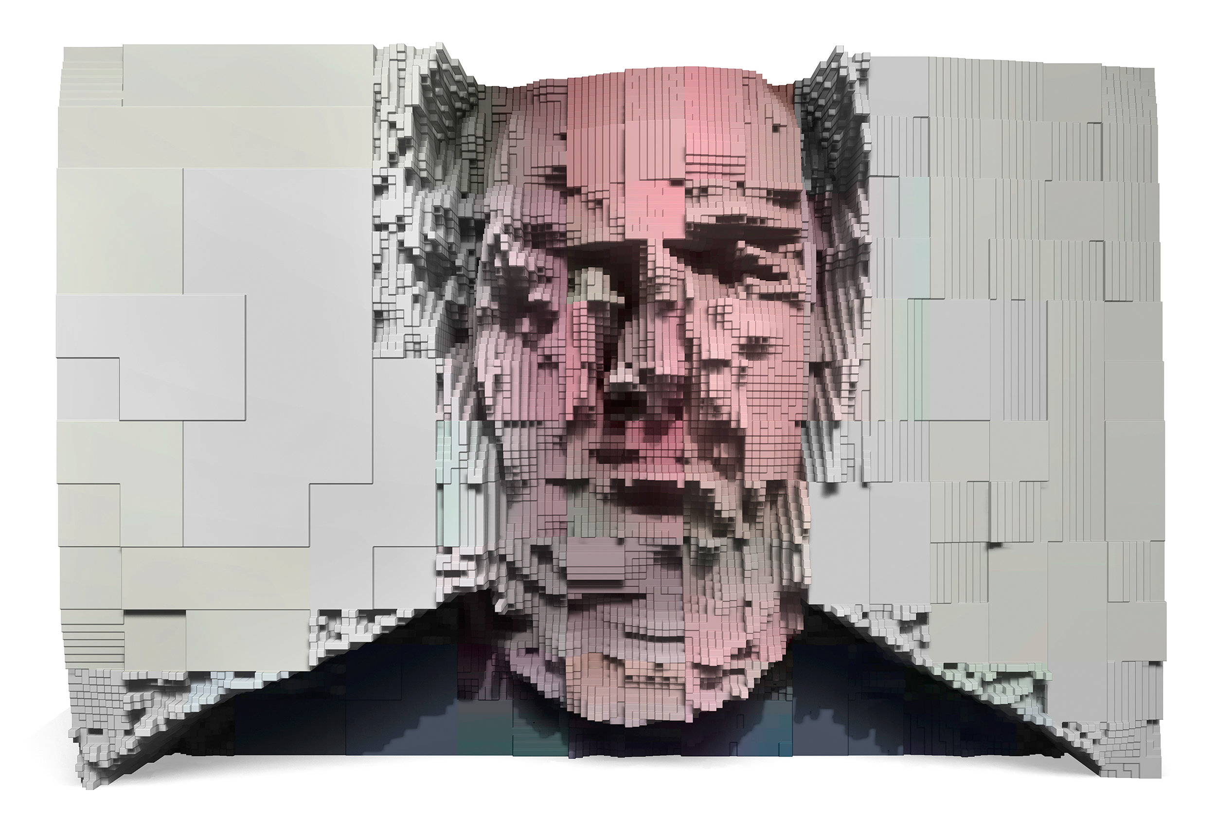 JPG Portrait, 2017, pigment print.