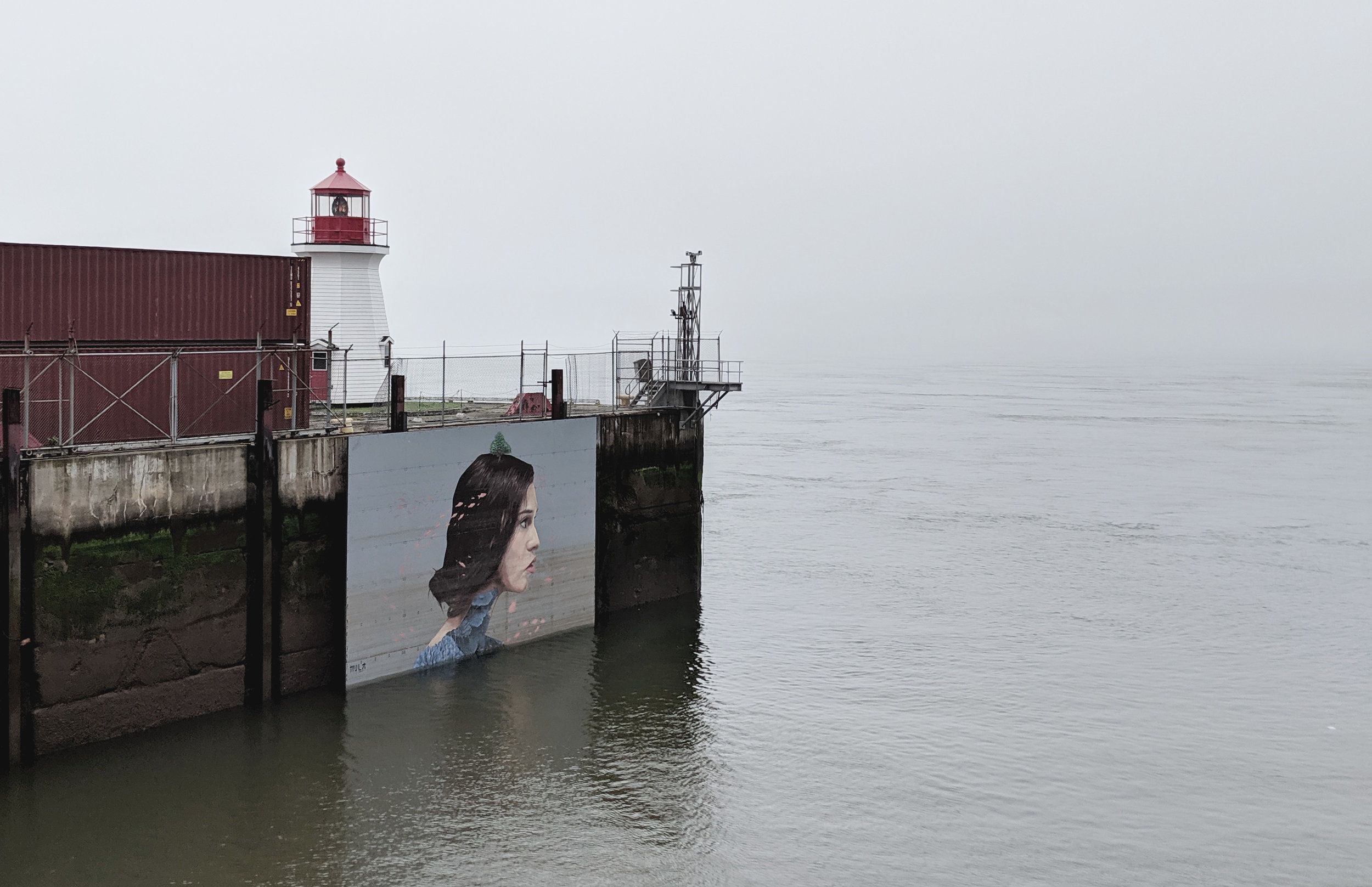 Hula Mural, Saint John Boardwalk