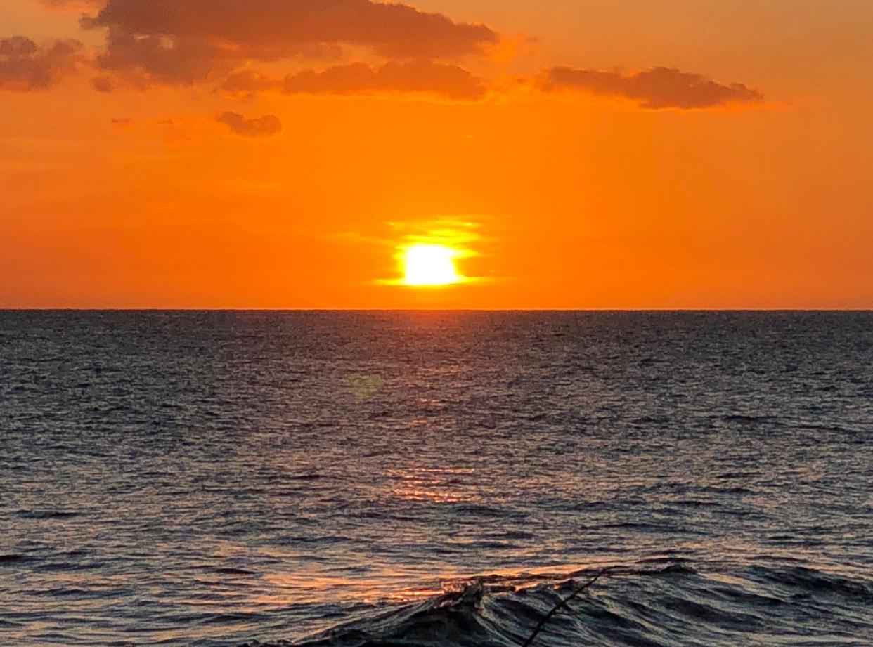 Bubbleman Sunset