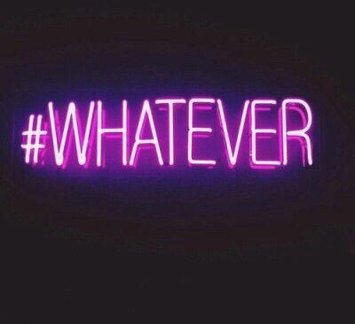 hashtag whatever