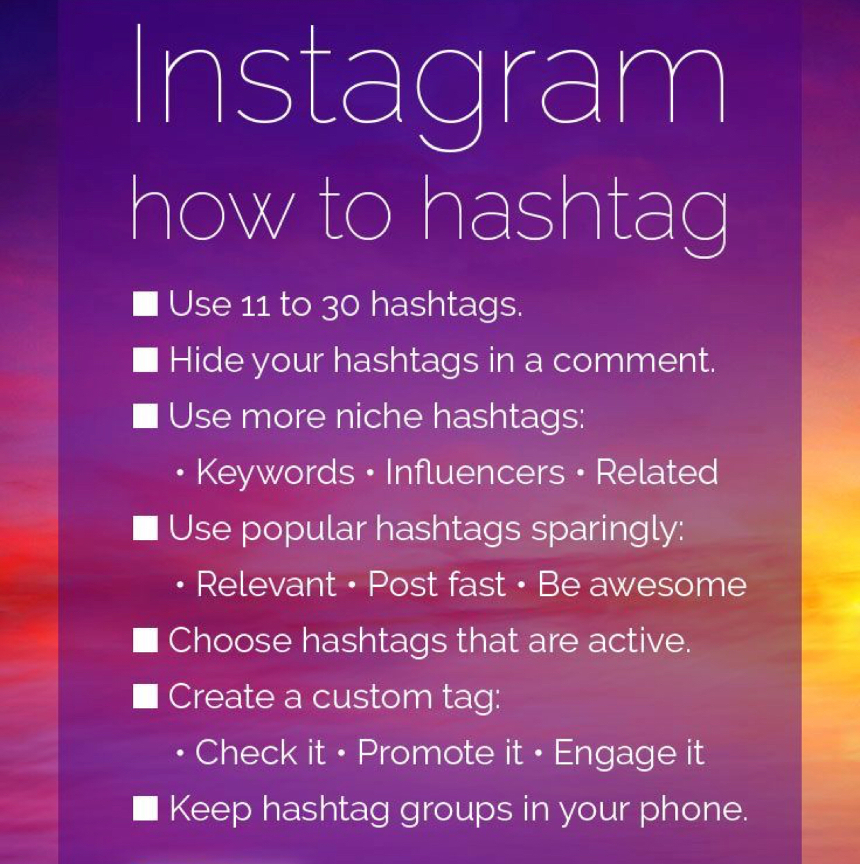 how to hashtag on instagram