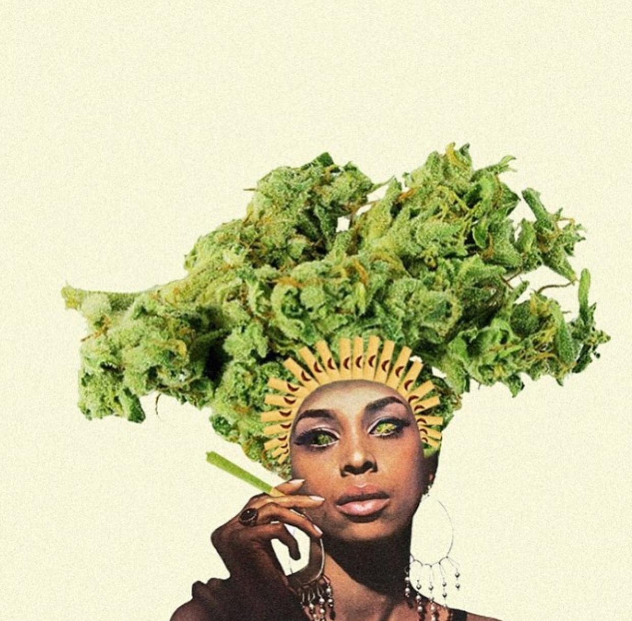 cannabis art