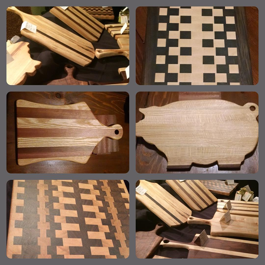 Black and Tan Woodworking - We are happy to welcome Black and Tan Woodworking. Rhode Island based crafted wooden items including cheese & cutting boards, jewelry hangers, knife racks and coasters. Products range from $10-175
