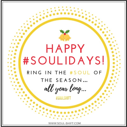 Happy #SOULidays Blog
