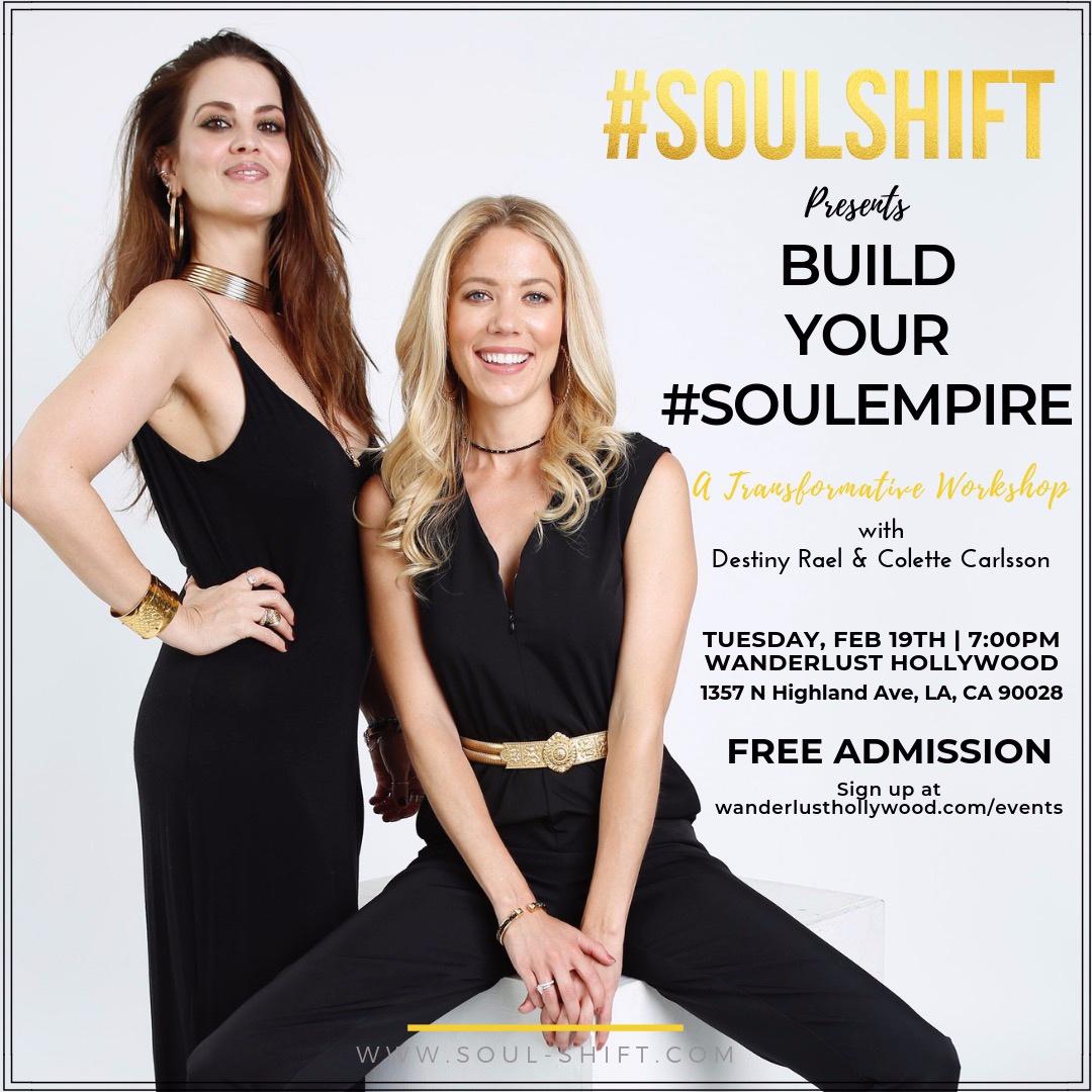 Build Your #SOULEMPIRE