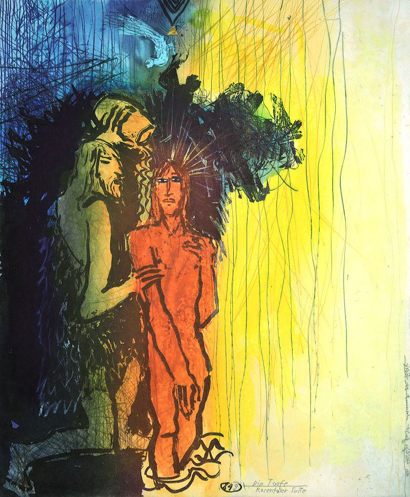 """The Baptism"" by Adi Holzer (1997)"